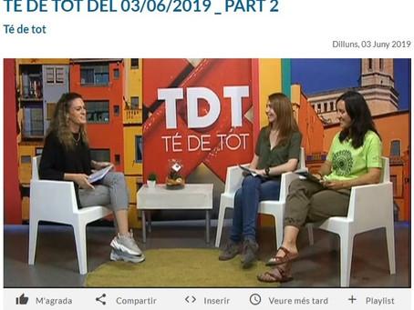 Presentem l'Aplec a TV Girona