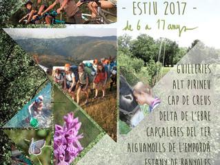 OBERTES LES INSCRIPCIONS ALS CAMPAMENTS DE NATURA PER L'ESTIU 2017