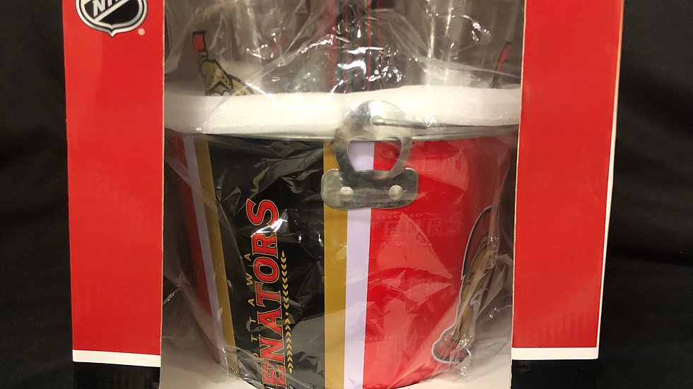 Ottawa Senators Ice Bucket Set