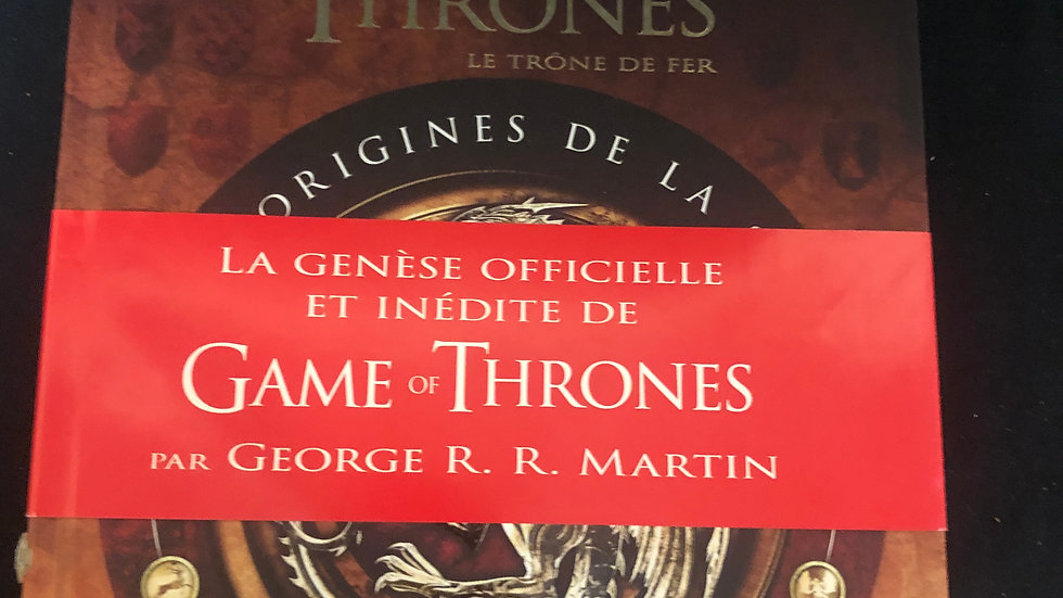 Game of Thrones Book French