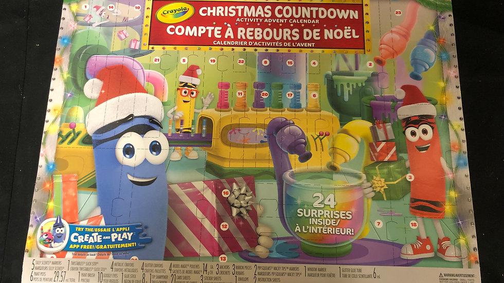 Christmas Countdown Crayola