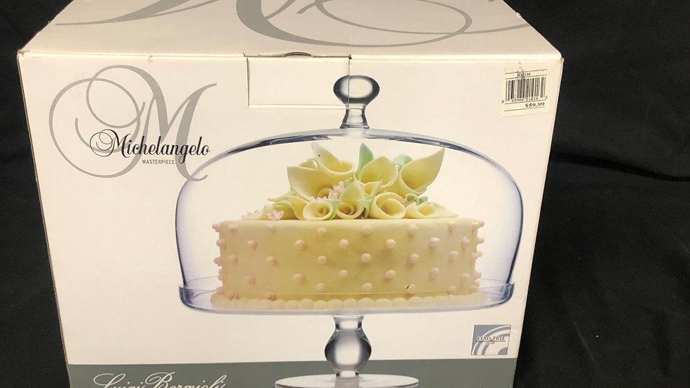 Cake Plate Michelangelo masterpiece