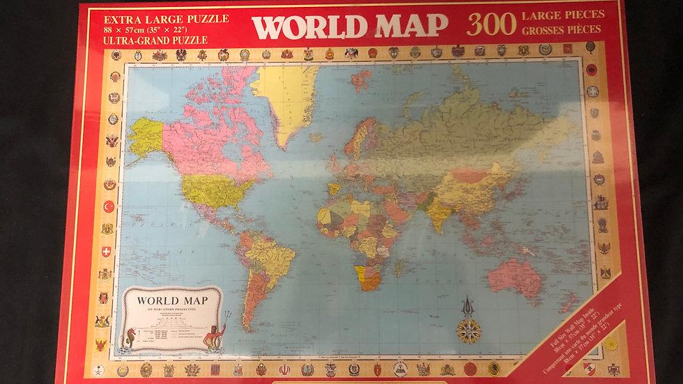 Sealed World Map Puzzle