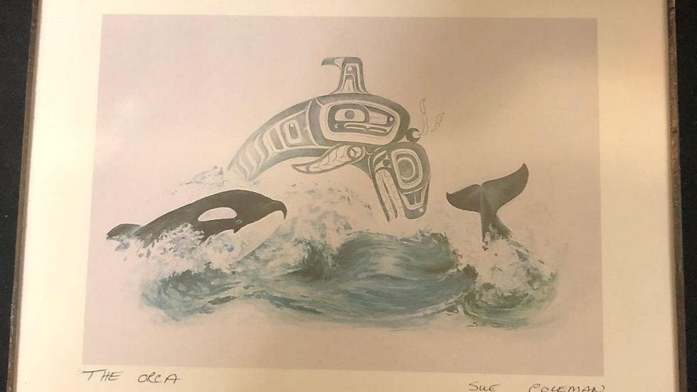 """The Orca"" Print"