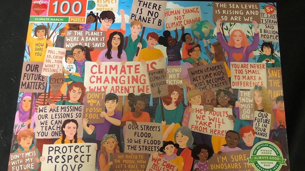 Climate Change  puzzle 100 piece puzzle