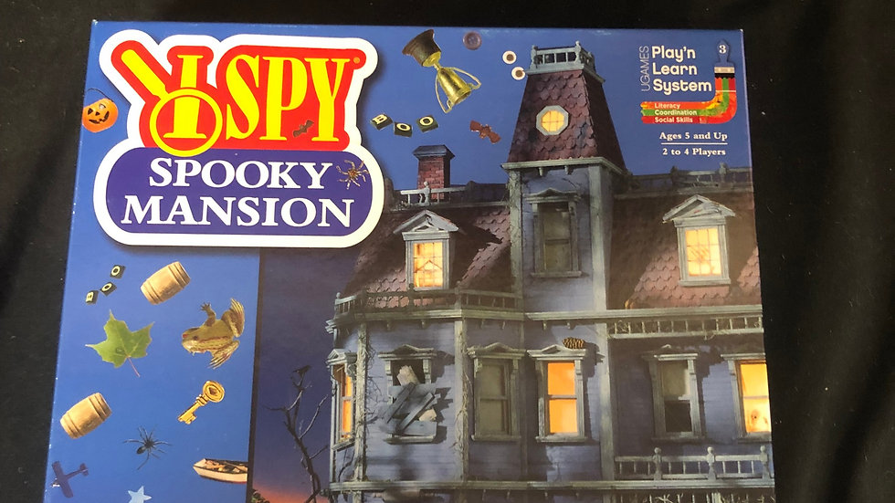 Spooky Mansion Game