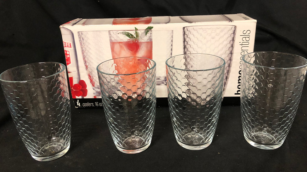 4 pc of Cooler Glasses