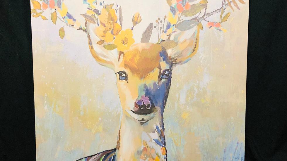 Colorful Deer 50x70