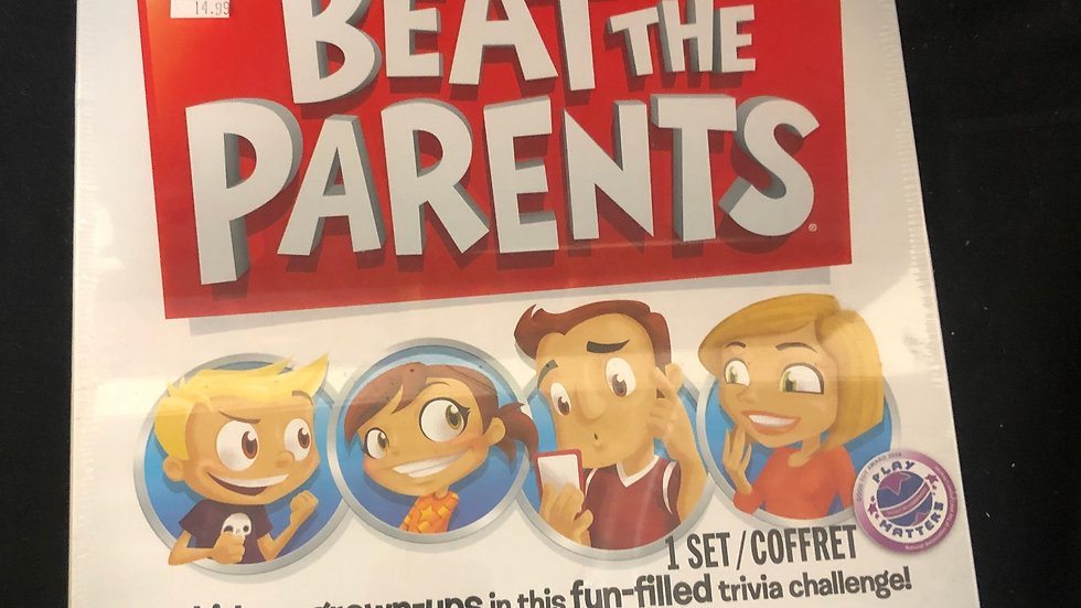 Beat the Parents Board Game Sealed
