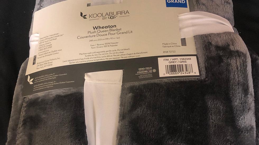 Ugg Grey Queen Blanket