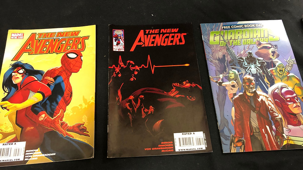 The new avengers and gurdians of the galaxy comic book bundle