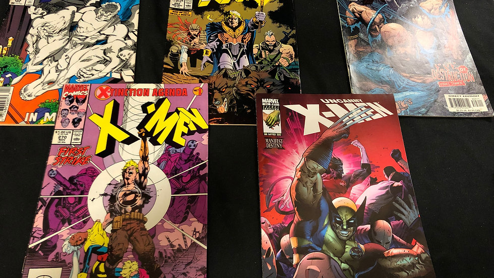 x men 5 comic books