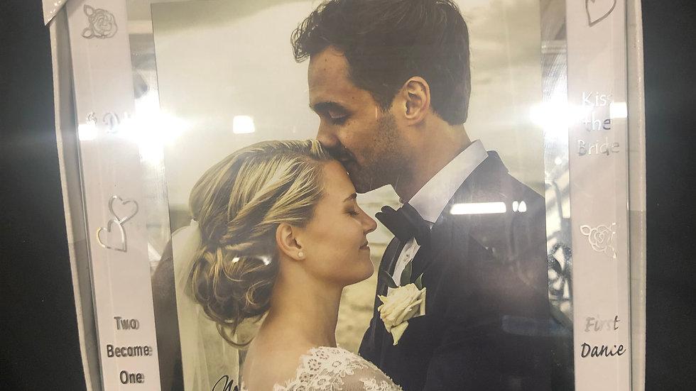 Wedding Frame Malden 8x10in