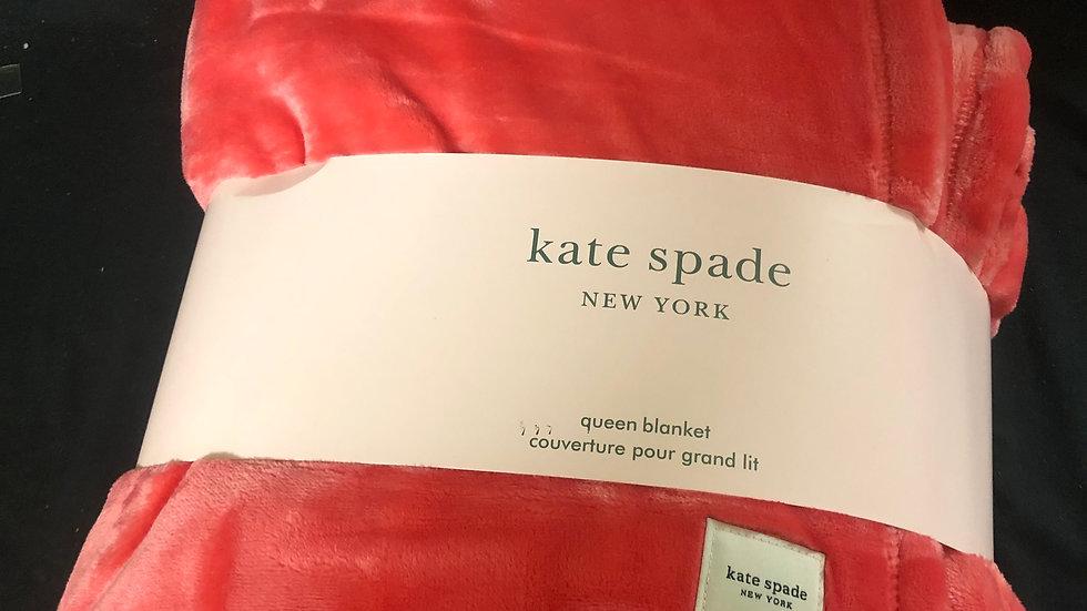 Kate Spade Pink Queen Blanket