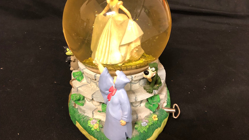 Cinderella Snow Globe with song