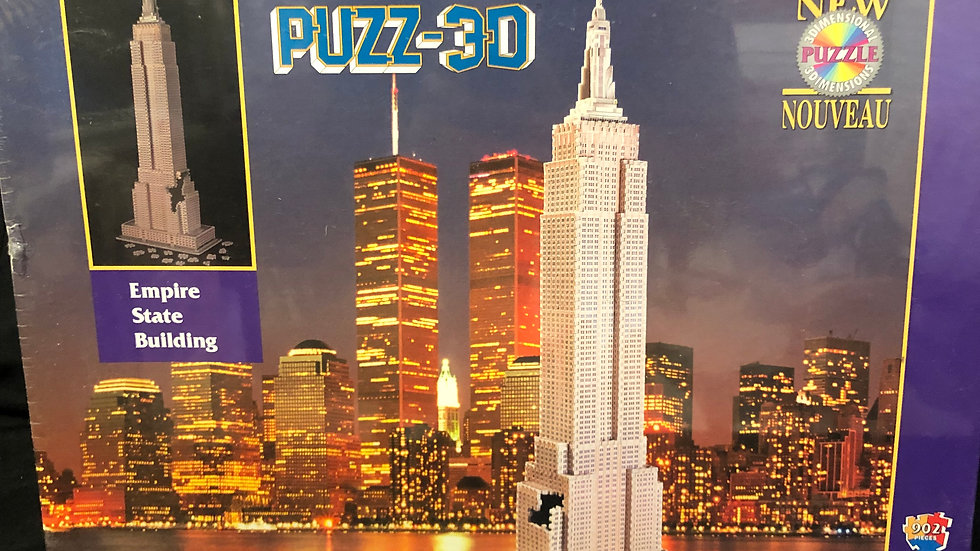 Puzz-3D Empire State Building