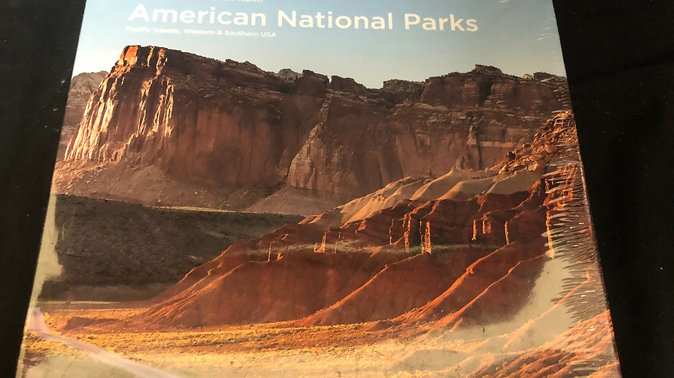 American National parks Book Sealed