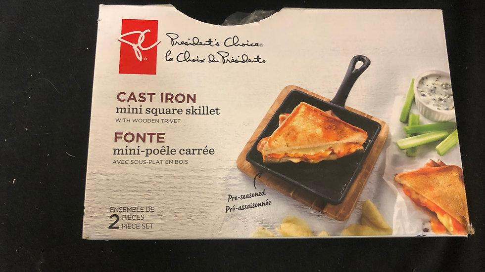 Mini Square Cast Iron