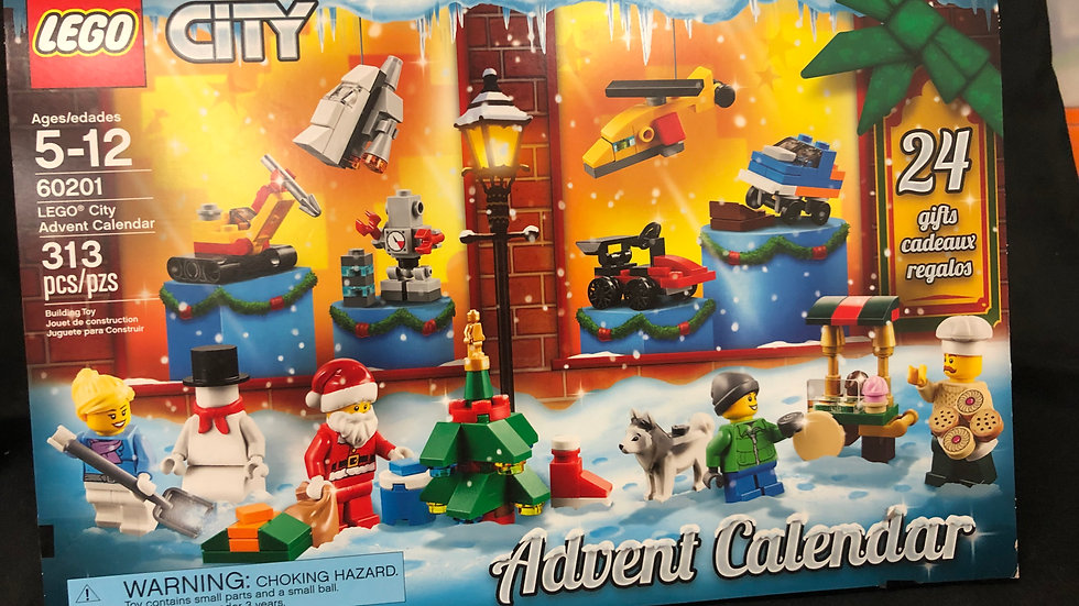 Lego winter advent Calendar