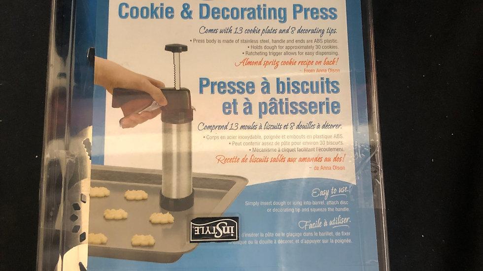 Cookie Decorating Press