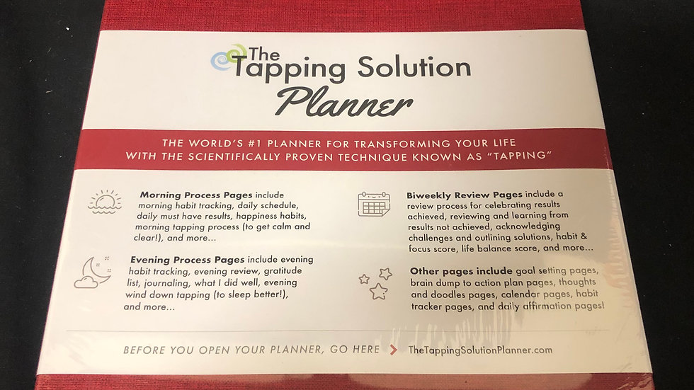 The Tapping Solution Planner Sealed