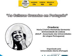 """XV Webinário de Português: """"As Culturas Cruzadas em Português"""""""