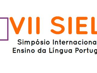 VII SIELP Simpósio Internacional de  Ensino da Língua Portuguesa
