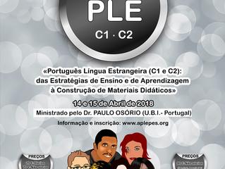 PORTUGUÊS LÍNGUA ESTRANGEIRA (C1 E C2): DAS ESTRATÉGIAS DE ENSINO E DE APRENDIZAGEM À CONSTRUÇÃO DE