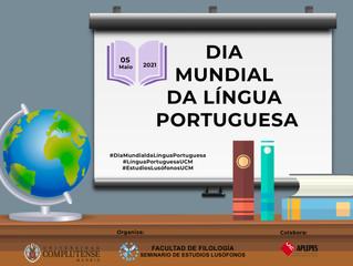 Atividade da UCM em comemoração do Dia Mundial da Língua Portuguesa (5 de maio)