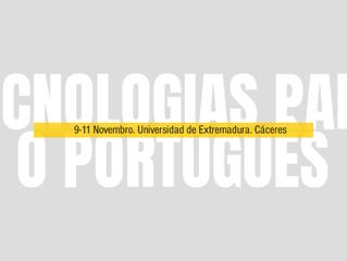 V Congresso Internacional SEEPLU: Tecnologias para o português (#tecPT)