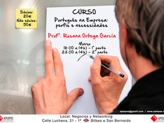 Curso de PLE - PORTUGUÊS NAS EMPRESAS: PERFIS E NECESSIDADES