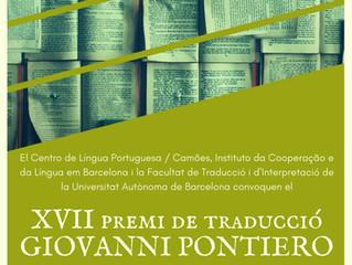 XVII Prêmio de Tradução Giovanni Pontiero