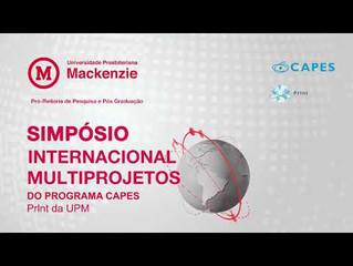 Simpósio Internacional Multiprojetos  - Do Programa Capes Print da UPM - De  27 a 30.04.21