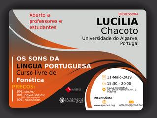 Os Sons da Língua Portuguesa - Curso livre de Fonética com a Professora Lucília Chacoto, da Universi