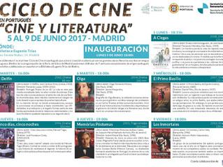 """Ciclo de Cine en Portugués """"Cine y Literatura"""""""
