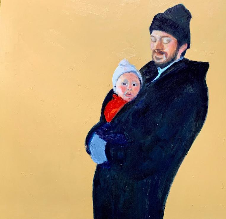 Jonathan and baby Preston