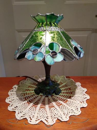 Petite lampe verte