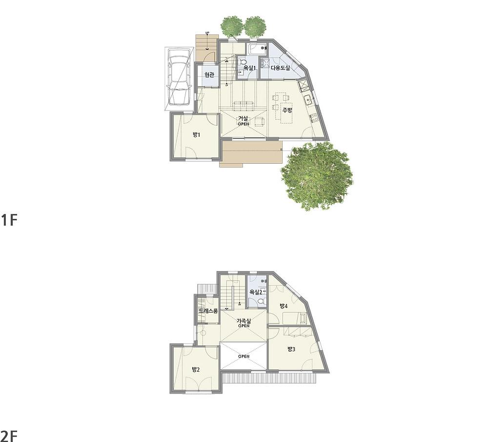 우드선 중목구조 운서동2주택2