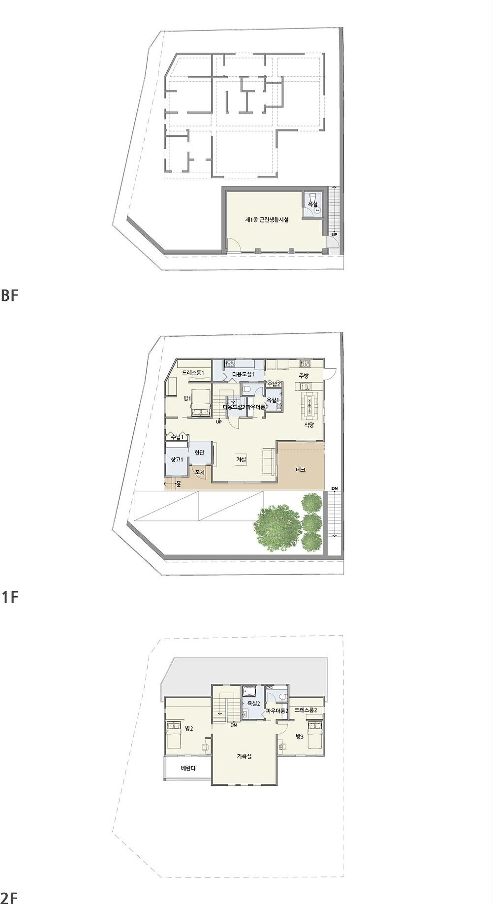 우드선 중목구조 의왕2주택2