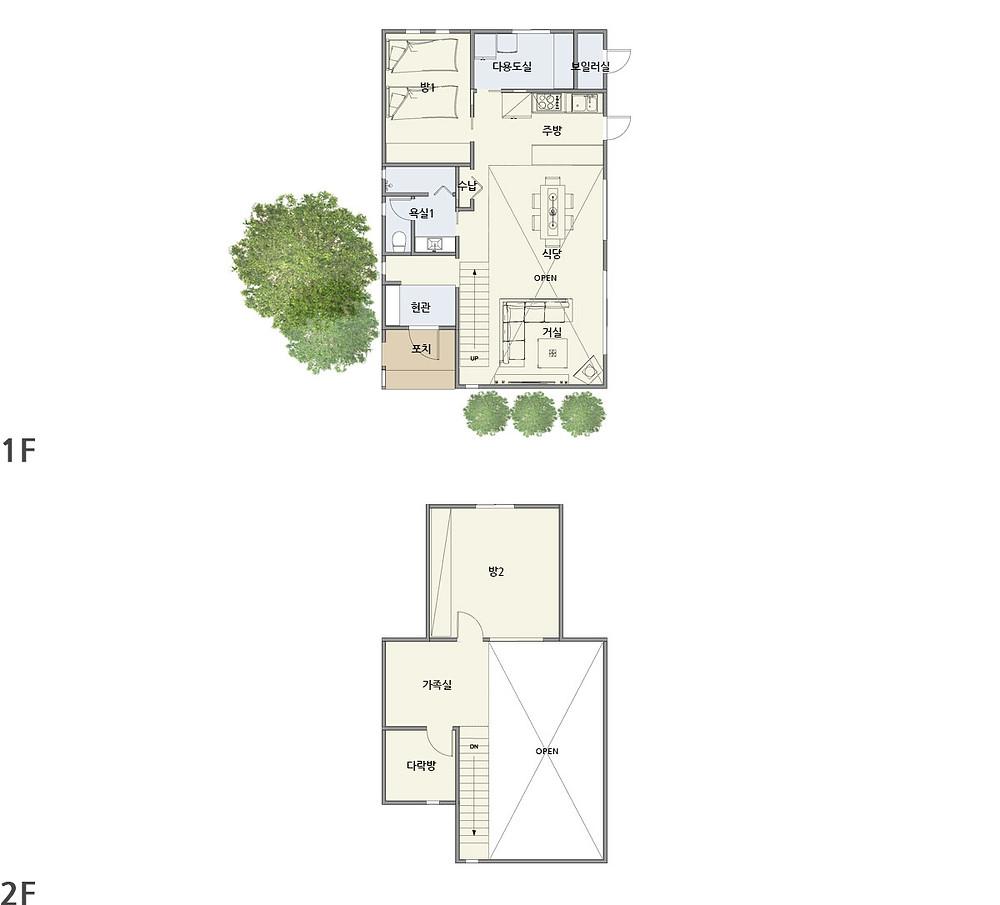우드선 중목구조 예천주택2