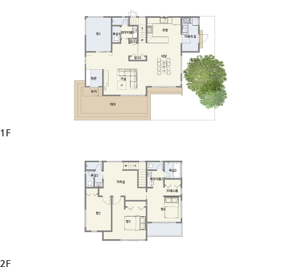 우드선 중목구조 양평주택2