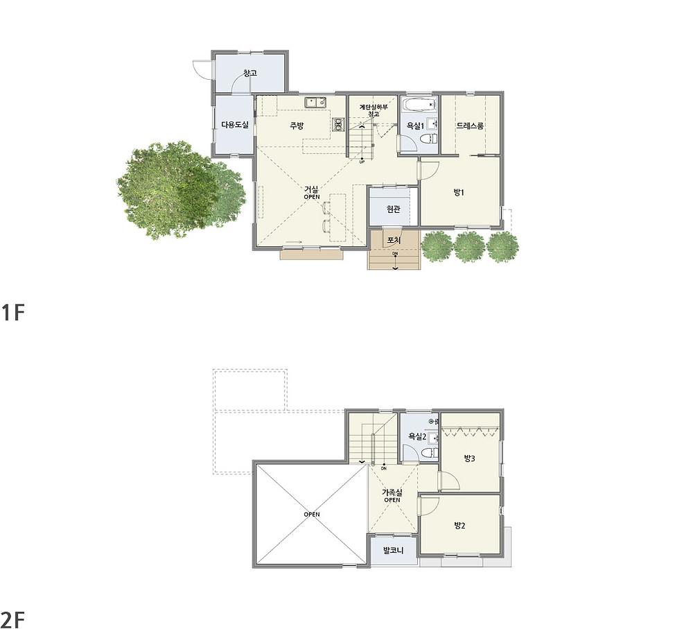 우드선 중목구조 광주주택2
