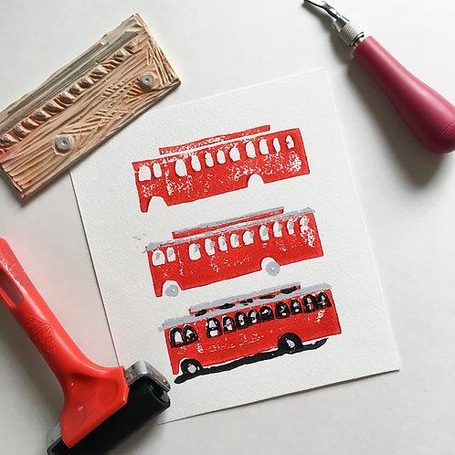 Kingston Trolley Print