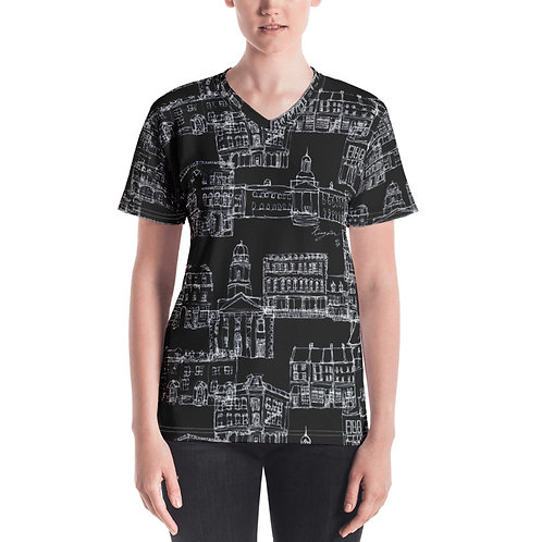 Kingston City T-shirt V-neck