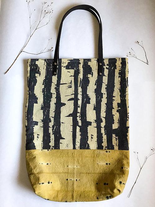 Canadian Dark Birch Travel Tote- No Inside Pockets