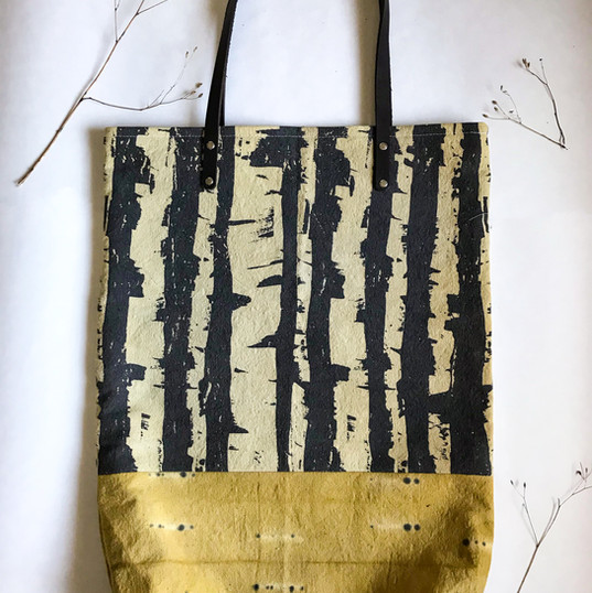 Canadian Dark Birch Travel Tote