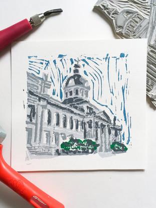 Kingston City Hall Print