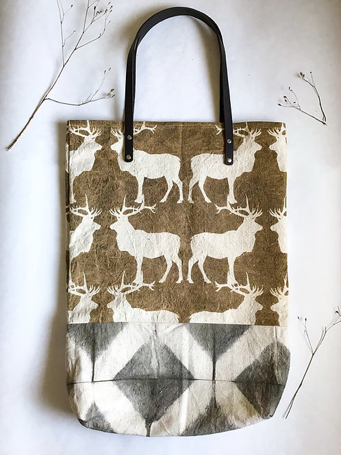 Canadian Caribou Travel Tote