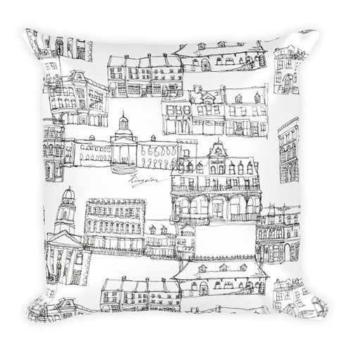 Kingston City Pillow Cover