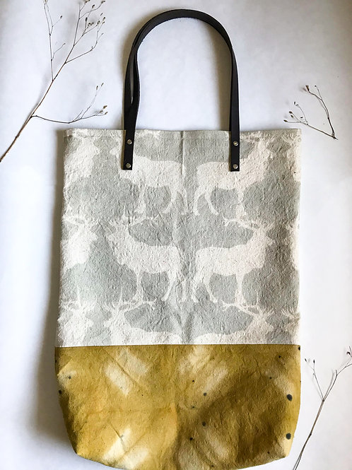 Canadian Grey Caribou Travel Tote